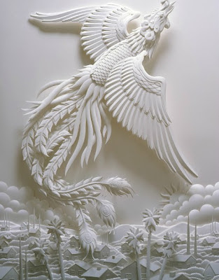 JEFF NISHINAKA's Paper Sculpture