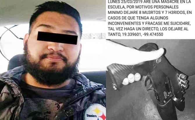 Denuncias, capturas, barba