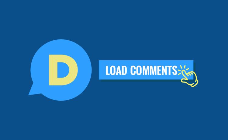 cara memasang widget Disqus comment dengan fungsi onclick load