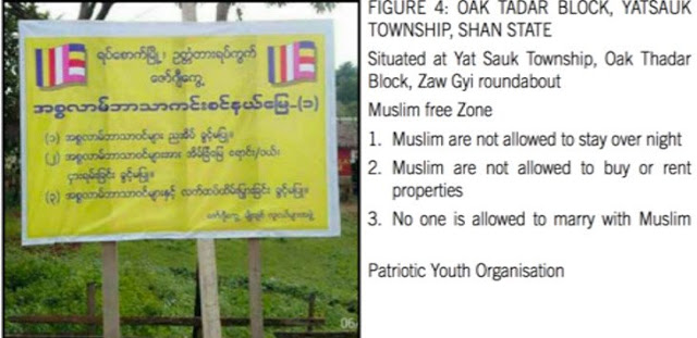 """Parah, Myanmar Mulai Terapkan """"Zona Bebas Muslim"""""""
