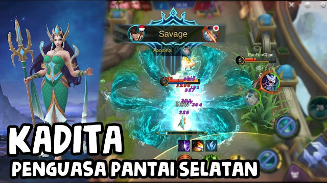 Build Kadita Terbaik Langsung Savage Mobile Legends 2