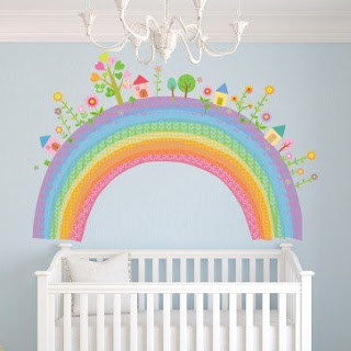 Baby Girl Bedroom Themes - Wall Sticker