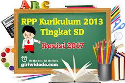 RPP Kurikulum 2013 SD Kelas 2 Semester 1 Revisi 2017