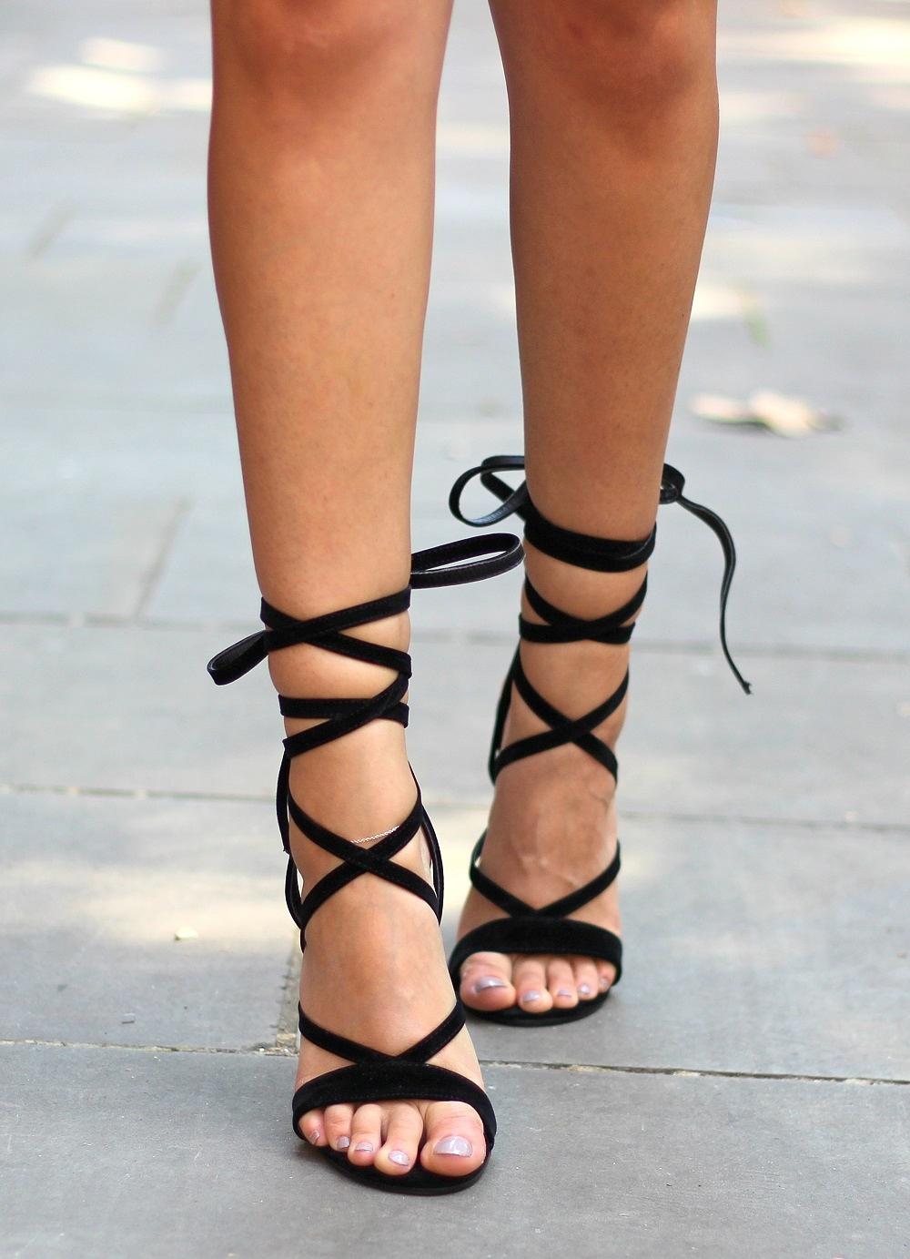 lace up heels public desire