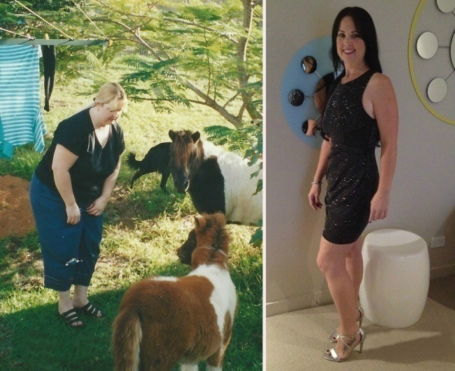 #10. You can't spend your whole life with only animals as your friends, which is what this woman realized. - 23 Inspirational Before/After Photos Of People Who Can Say 'I Did It.'