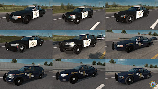 ai highway patrol pack for ats, american truck simulator mods, ats ai mods, ats ai traffic pack, ats mods, ats real street, ats realistic mods, recommendedmodsats, ats state highway patrol v1.42 screenshots1