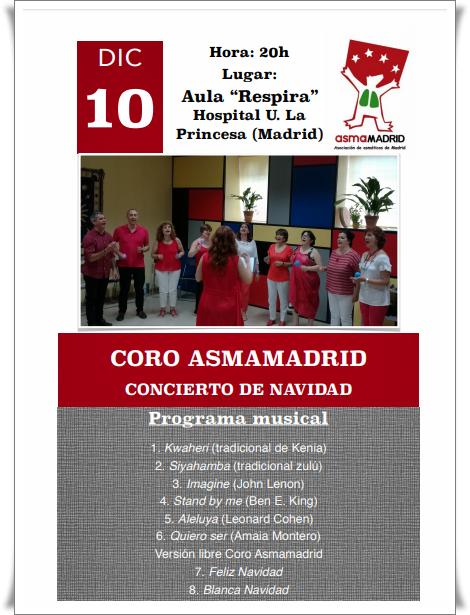 Concierto de Navidad - Coro Asmamadrid