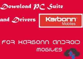 Karbonn Phone Suite PC Driver Download