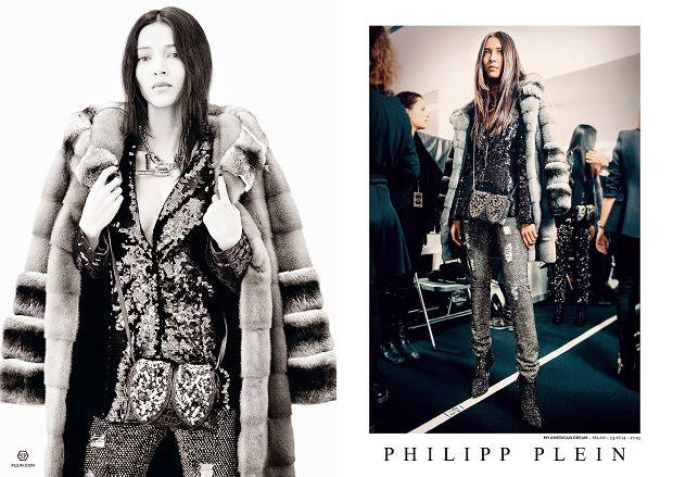 "e328be3fe4 PHILIPP PLEIN FW2014/15 ad campaign chose to present the excitement of his  Milan fashion show entitled ""My American Dream"" through a series of images  shot ..."