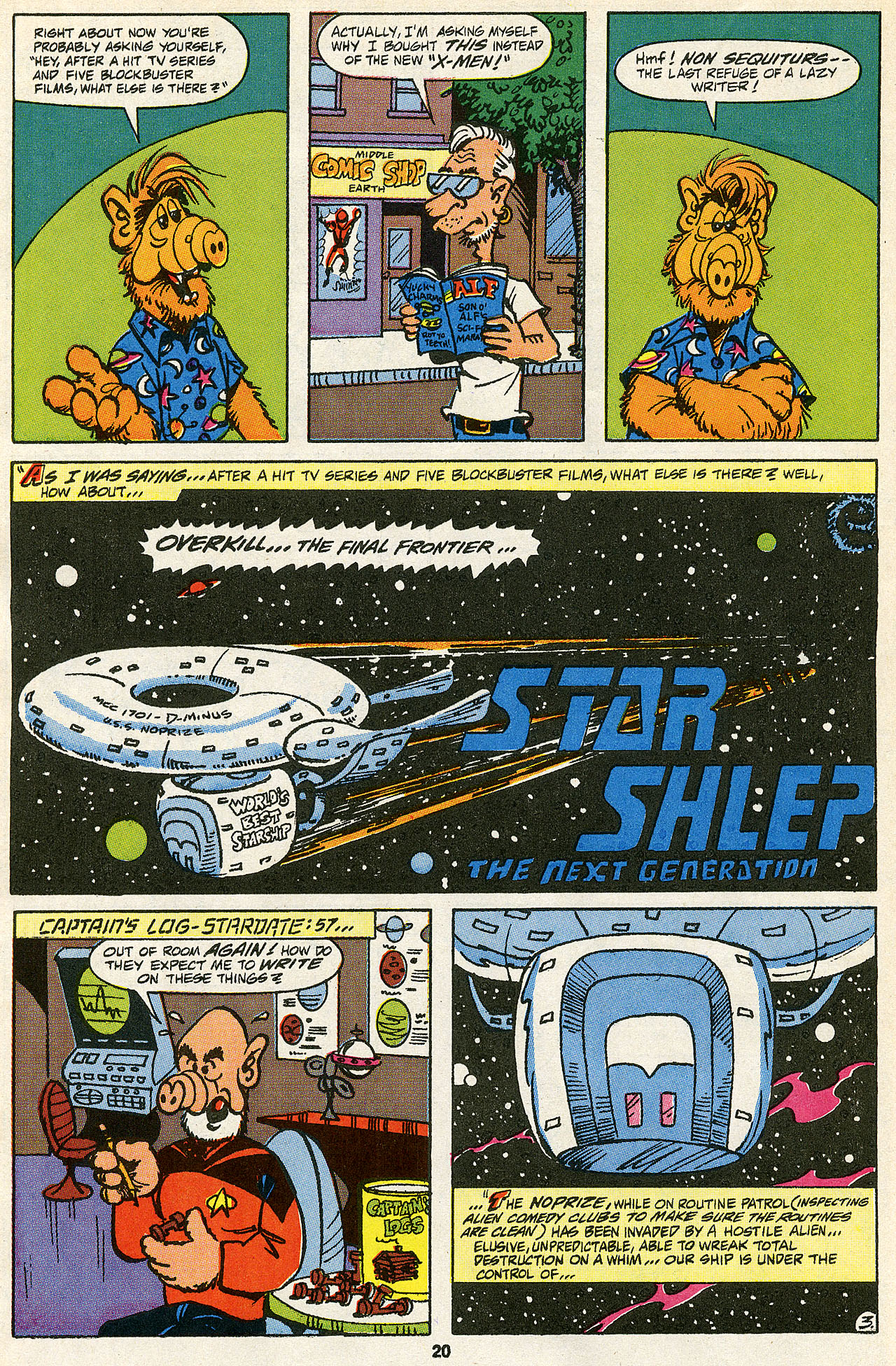 Read online ALF comic -  Issue #43 - 21