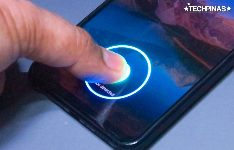 Vivo In-Display Fingerprint Scanner