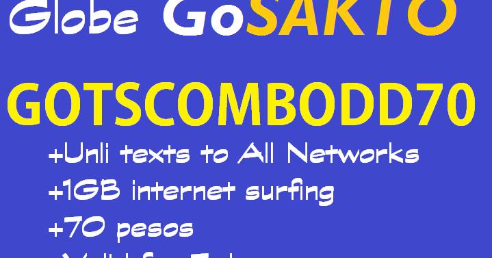 Internet Globe Prepaid Promo