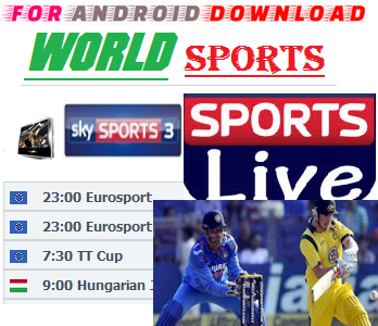 Download WorldSportsTV[Premium] IPTV Movie Update Watch Free Live Sports on Android,PC or Other Device.  Watch Live Premium Cable World Sports On Android or PC Through Browser.