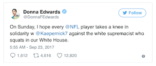 Dem calls for all NFL players to kneel during national anthem