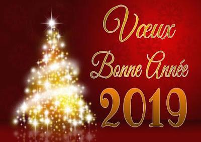 E-carte virtuelle Meilleurs vœux 2019