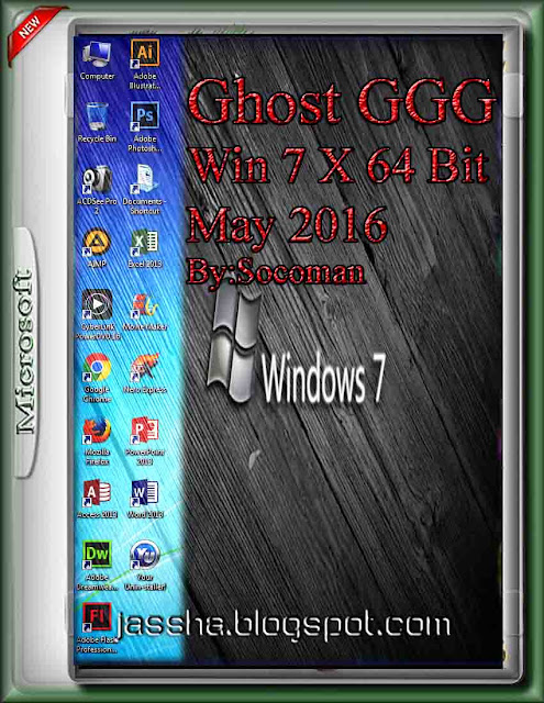 Ghost GGG Win 7 X 64 Bit May 2016 By Socoman [ ลิงค์เดียว ]