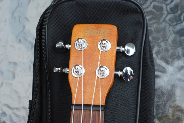eleuke peanut ukulele headstock