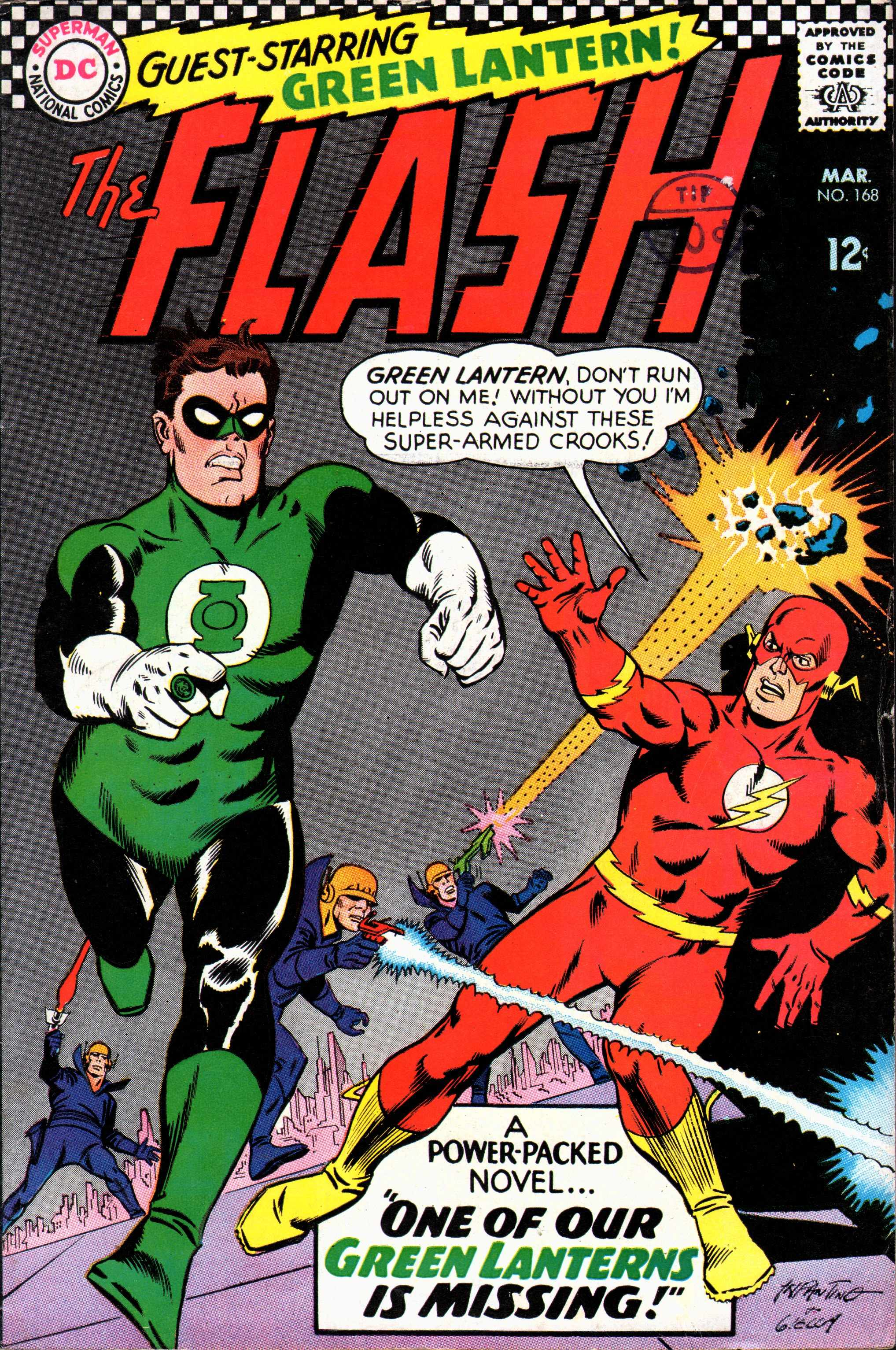 The Flash (1959) 168 Page 1