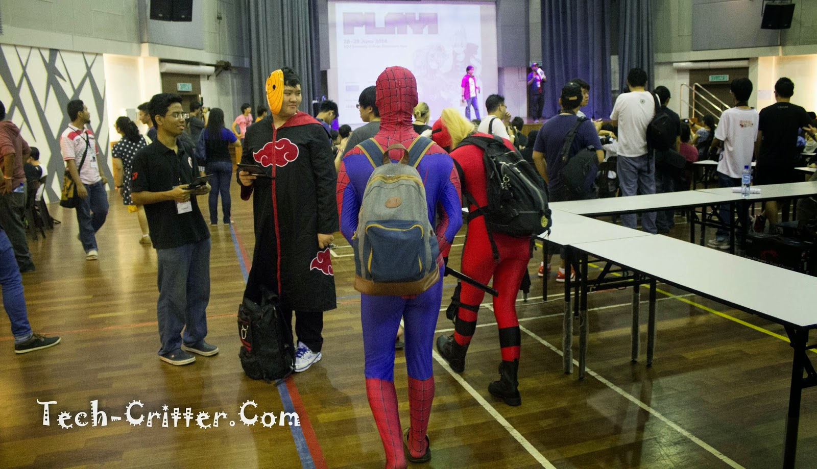 Coverage of PLAY! Convention @ KDU College 222