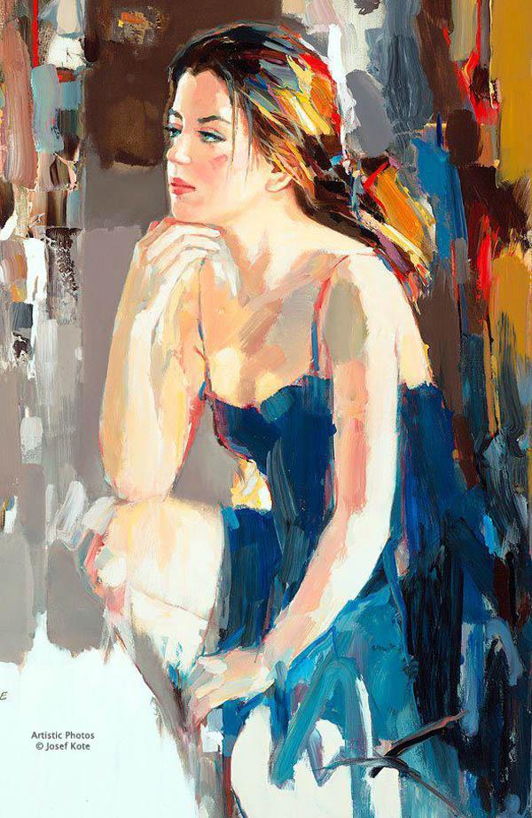 CoolFunClub: Paintings of Woman