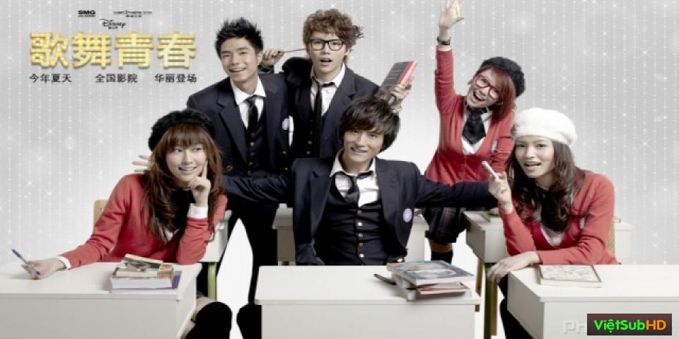 Phim Ca Vũ Thanh Xuân VietSub HD | High School Musical: China 2010