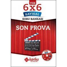 Körfez YGS 6x6 Sayısal Son Prova Soru Bankası Çözüm DVDli