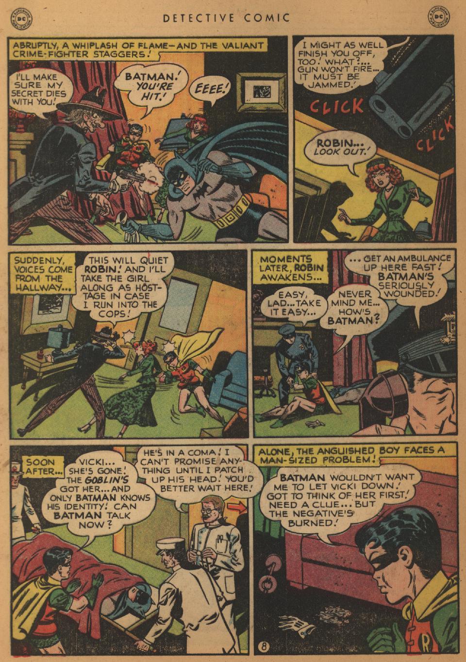 Read online Detective Comics (1937) comic -  Issue #152 - 10