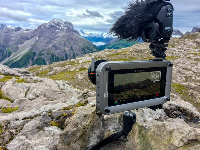 iPhone filmmaking in the Alps – What's in my backpack?