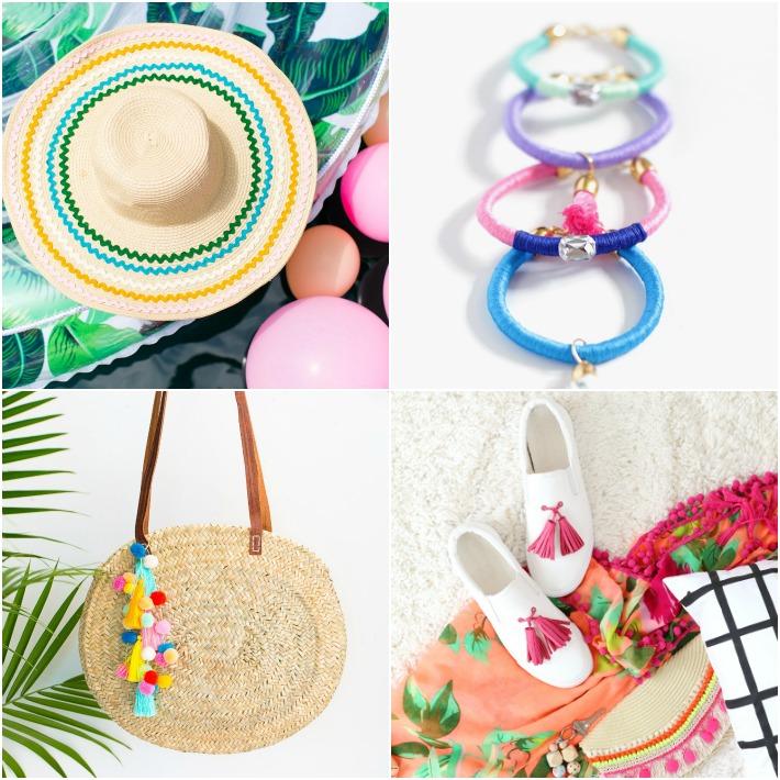 4 diy personalizar accesorios y complementos este verano