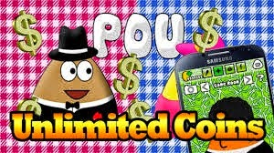 POU Mod Apk Terbaru 2015 (Unlimited Money Coins) Cover Logo by http://jembersantri.blogspot.com