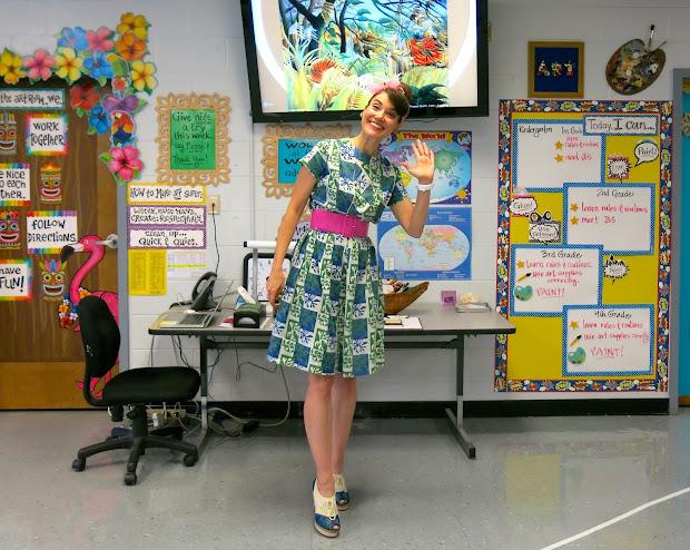 Cassie Stephens Organize Art Room