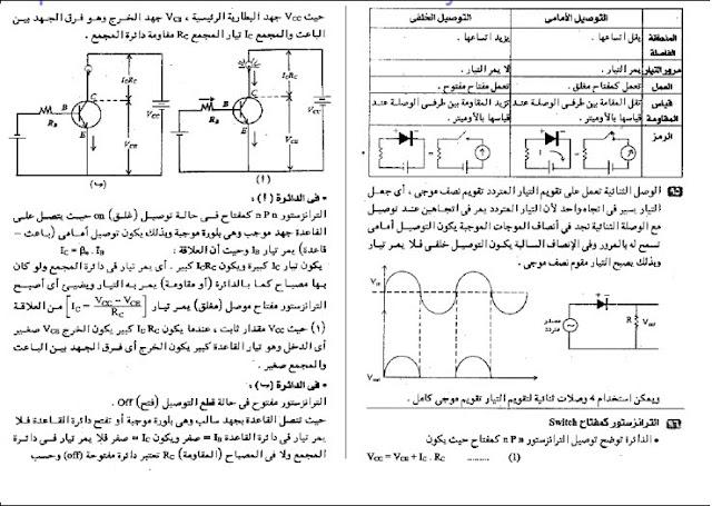 اجابات اسئلة الكتاب المدرسي فيزياء ثالث ثانوي كتاب 100% استاذ احمد بركة