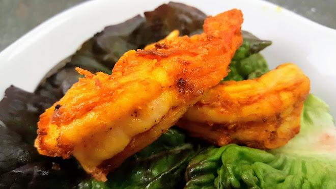 Beignets de crevette péruviens