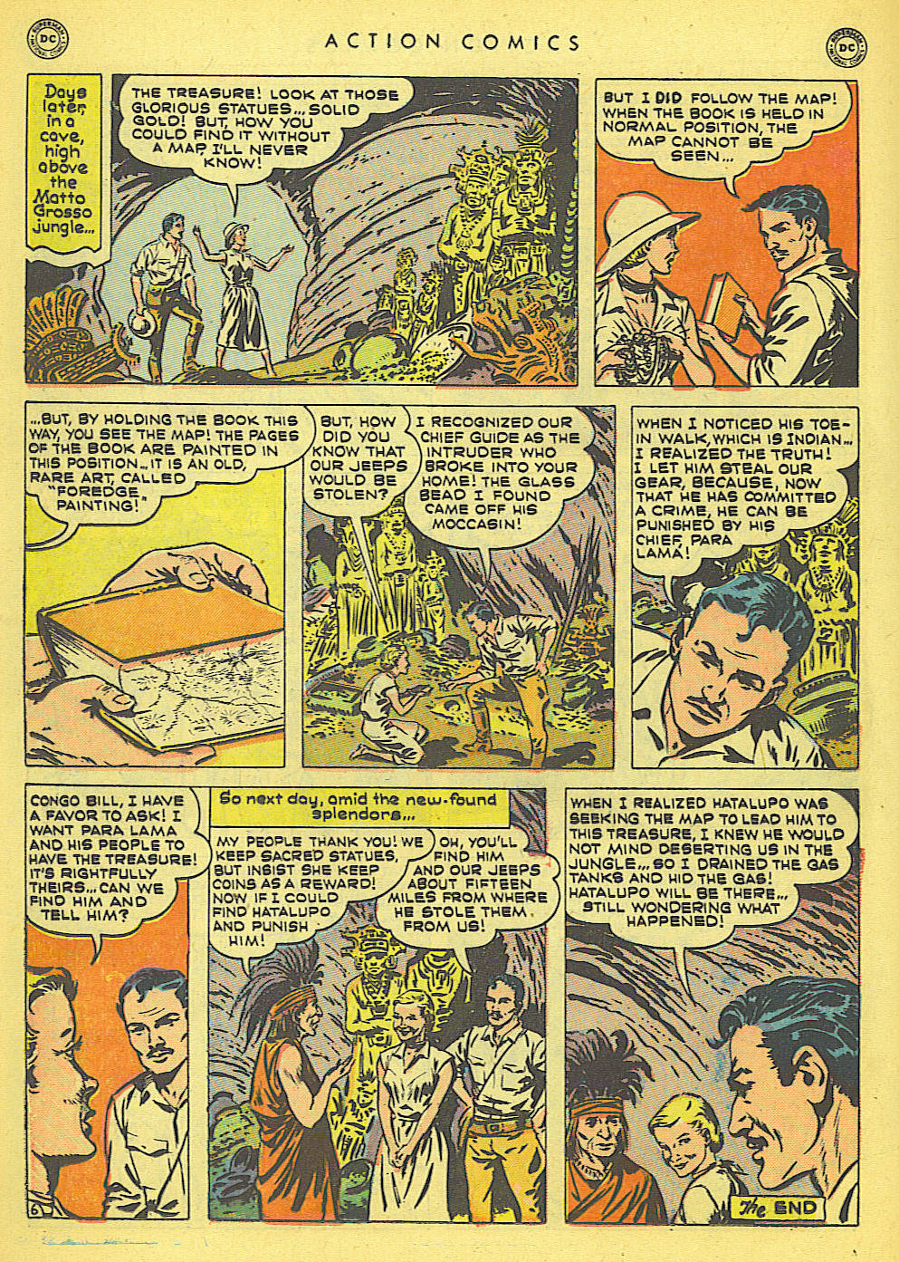 Read online Action Comics (1938) comic -  Issue #152 - 32