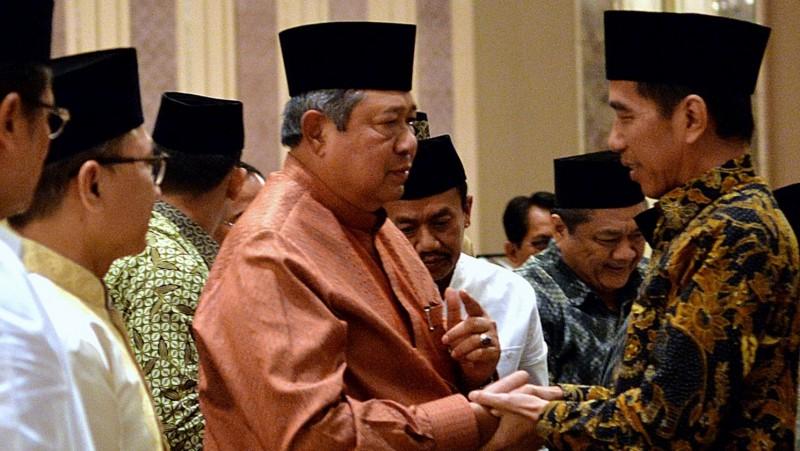 Presiden Joko Widodo bertemu Ketua Umum Partai Demokrat, SBY