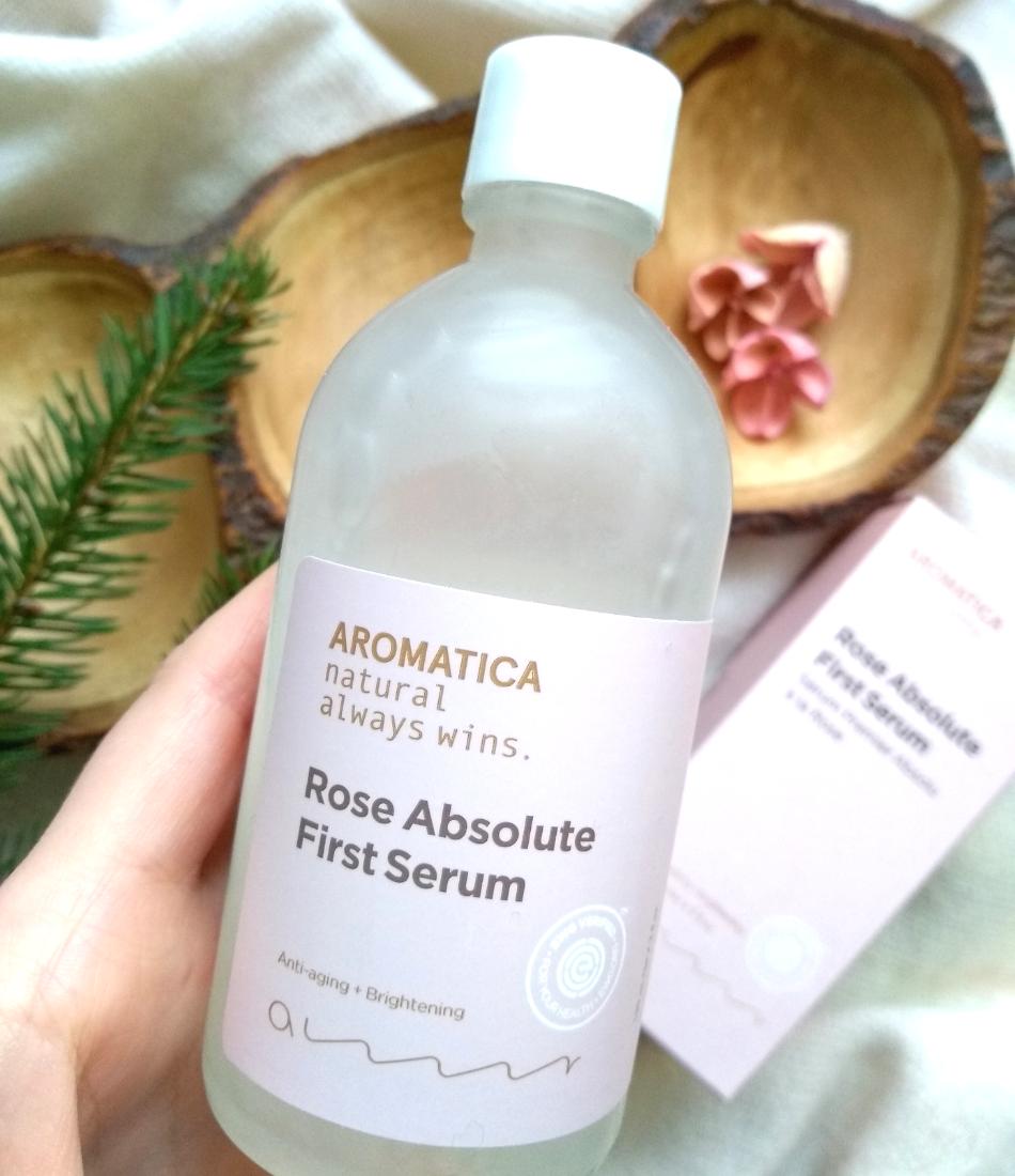 Aromatica, Rose Absolute First Serum serum różane skład