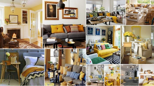 50+ Διακοσμήσεις σε Κίτρινο για κάθε χώρο του σπιτιού