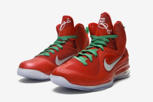 Christmas Shoes Nike.Nba 2k12 Nike Lebron Ix Christmas Shoes Patch Nba2k Org