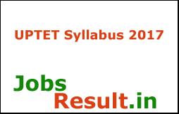 UPTET Syllabus 2017