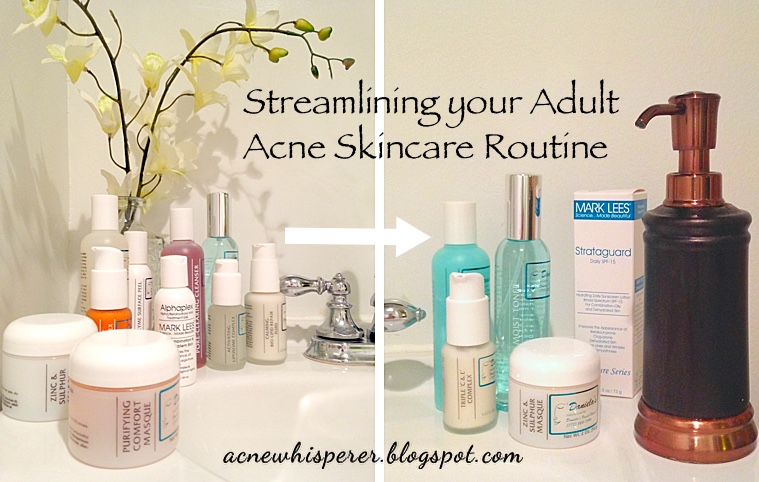 care Adult acne skin