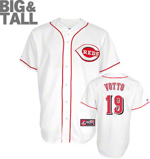 Big and Tall Joey Votto Jersey