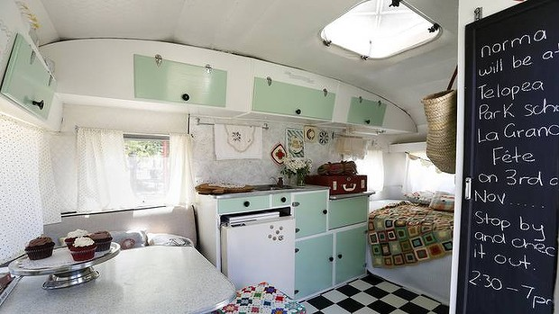 As the doors are not flush with the cupboards and instead stand proud of them (by the thickness of the door material) the hinges needed to be offset. & BohemiVan: Offset Retro Campervan \u0026 Caravan Cupboard Hinges