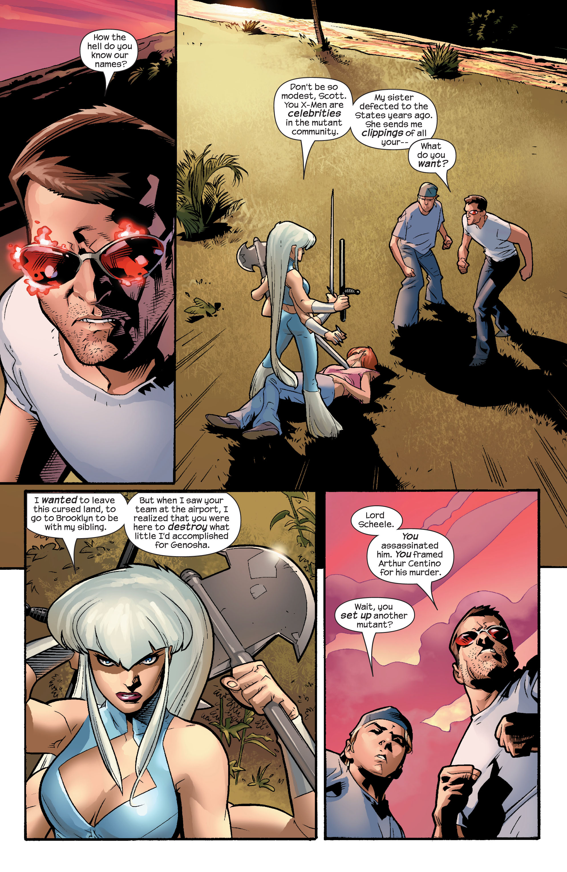 Read online Ultimate X-Men comic -  Issue #56 - 4