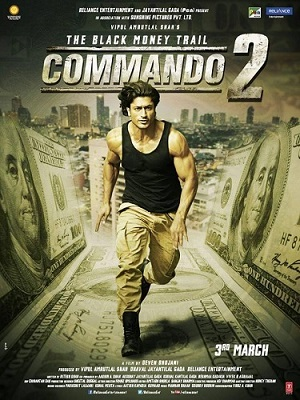 Commando 2 Full Movie Download HD 720p (2017), Commando 2 movie download, HDwale.com commando 2 full movie