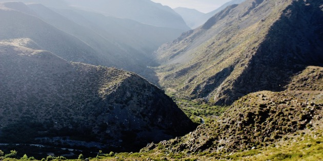 Valle del Río Chicharra, por Ivo Carvajal
