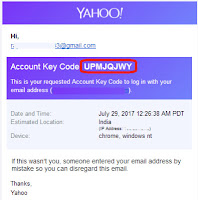 how i recover my yahoo id