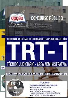 Concurso TRT 1ª Região 2018
