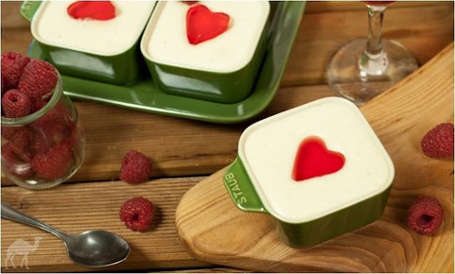 Mini serniczki na zimno z serków waniliowych