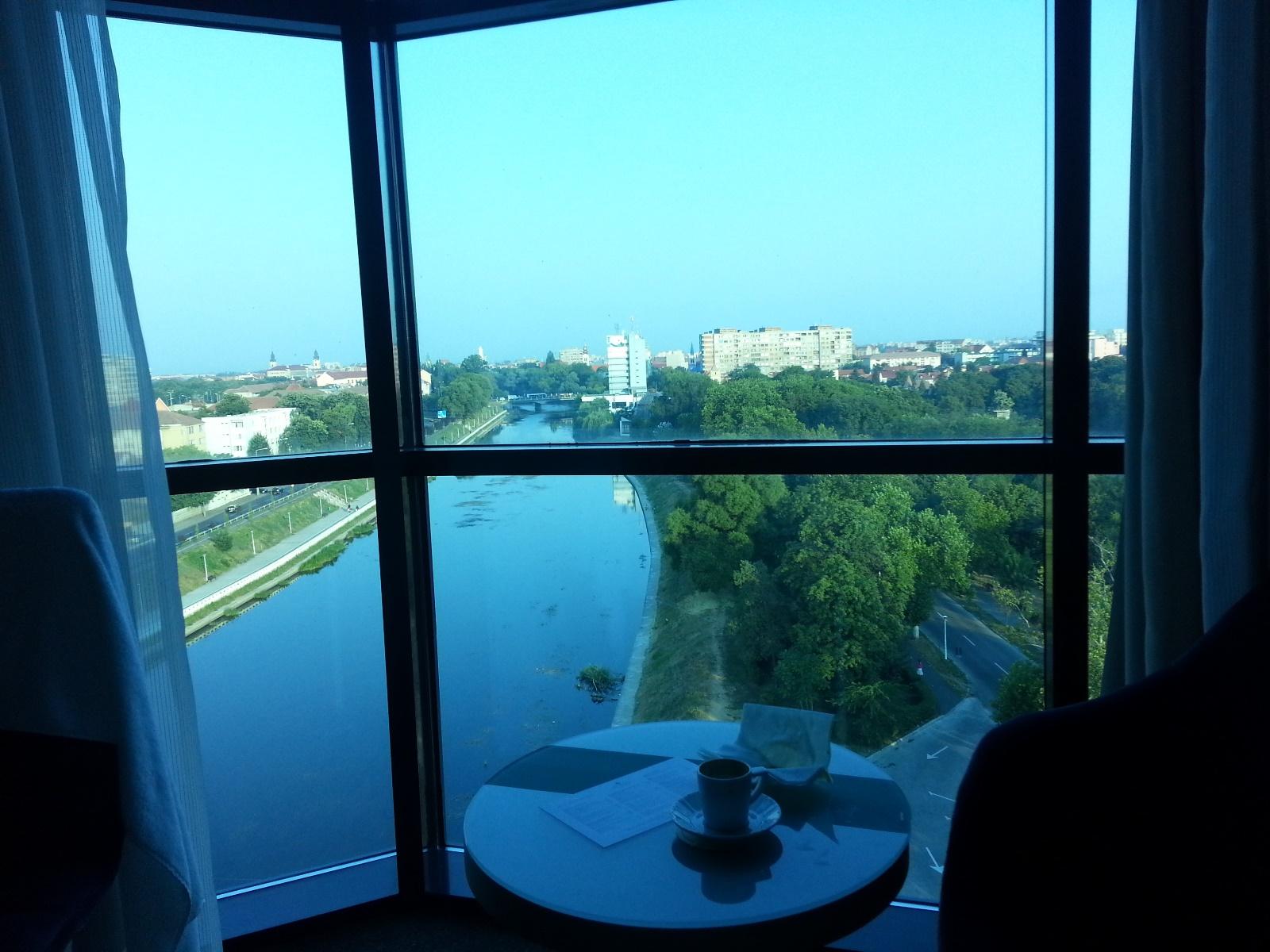 DoubleTree by Hilton Oradea Rumunia widok z pokoju
