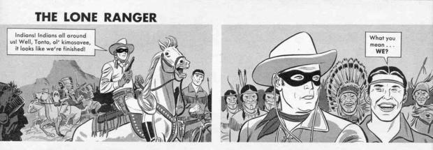 Old _Mad Magaznie_ Parody of Lone Ranger